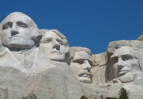 Fun facts about our favorite presidents for Mount rushmore history facts