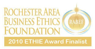Rochester Business Ethics Foundation ETHIE Award