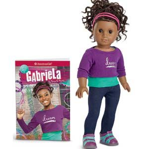 Gabriela Doll and Book