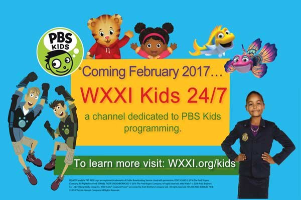 WXXI Launches a New 24/7 PBS Kids Channel