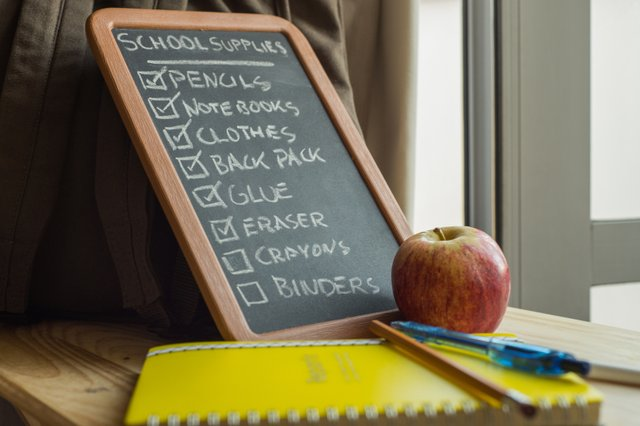 Back-to-school Checklist 1