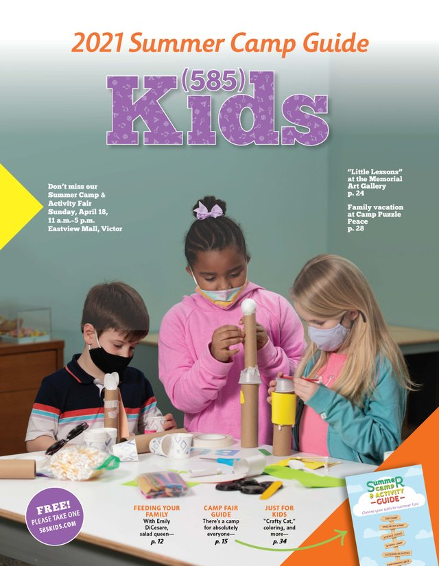 (585) Kids Spring 2021 Cover