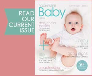 Click image to read the most current issue of our Rochester Baby Guide