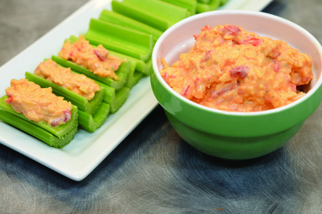 Ranch Pimento Cheese Celery
